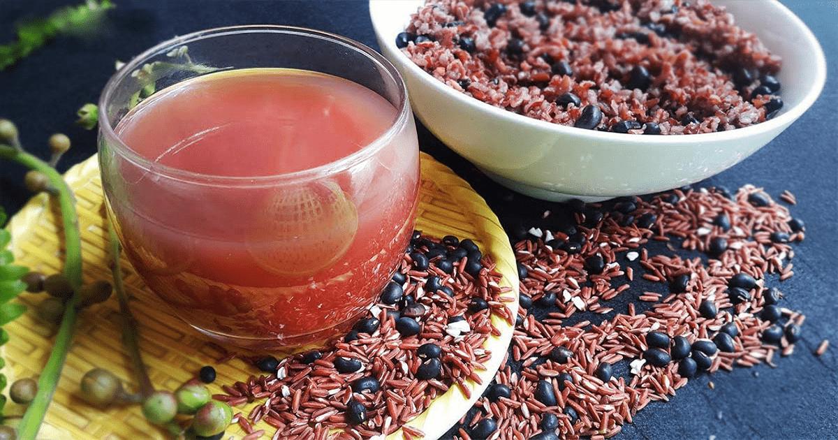 Giảm cân bằng gạo lứt và đậu đen