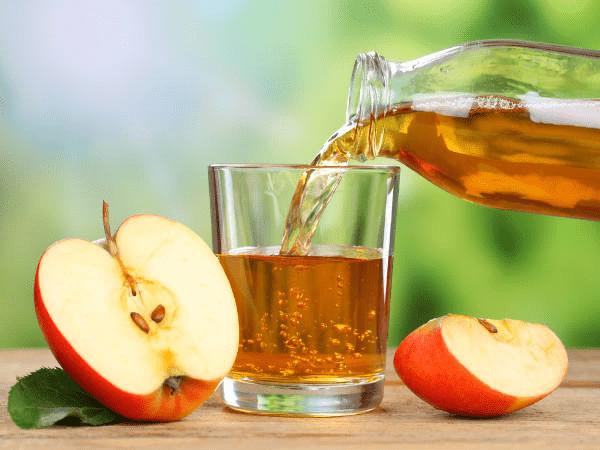 Giấm táo có nhiều tác dụng trong việc hỗ trợ giảm cân