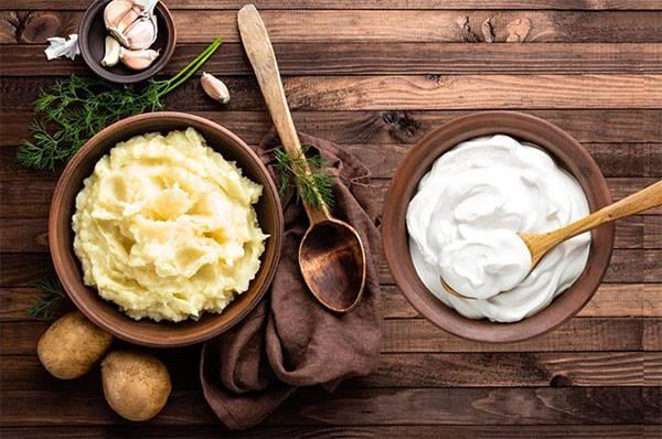 Mặt nạ khoai tây sữa chua se khít lỗ chân lông to