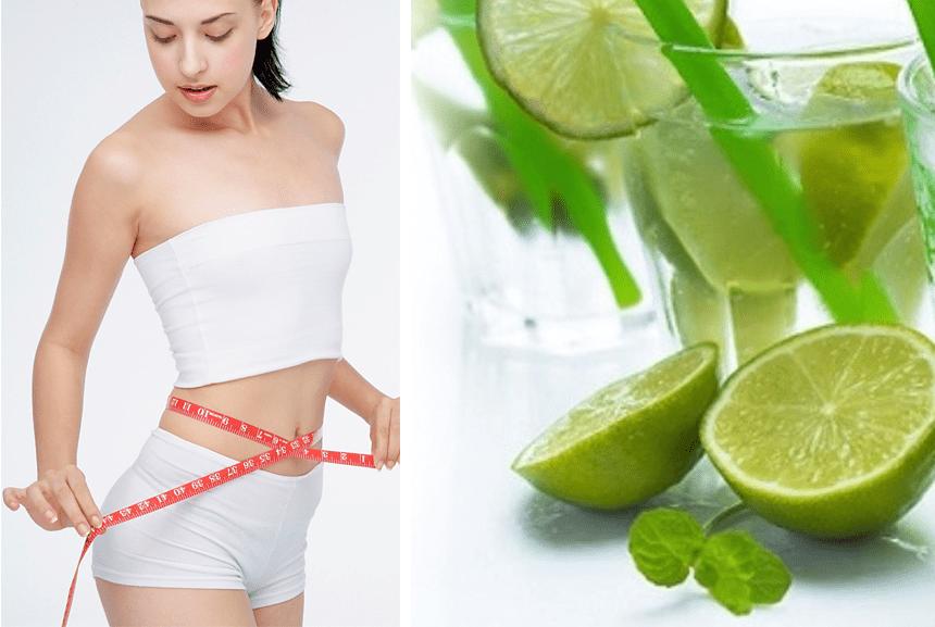 Công dụng khi giảm cân từ chanh