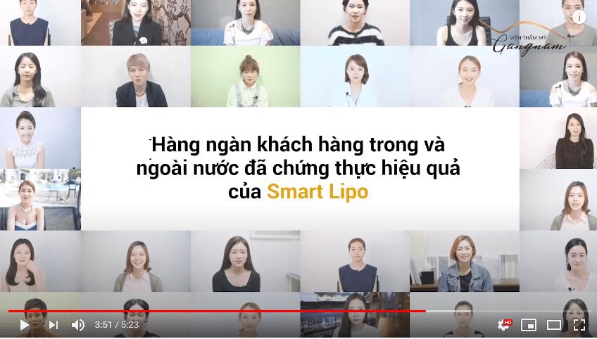 Giảm cân cấp tốc với công nghệ Smart Lipo