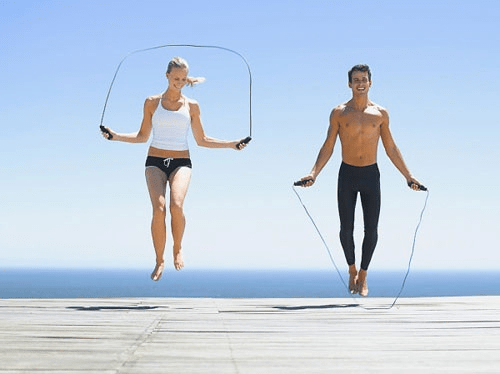 Bài tập nhảy dây giúp giảm bắp chân hiệu quả