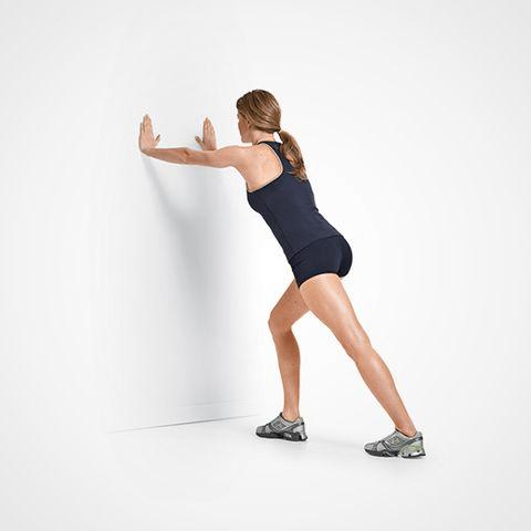 Bài tập Toe - up Calf Stretch