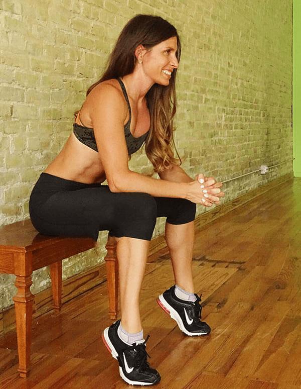 Bài tập giảm bắp chân Seated Calf Raises