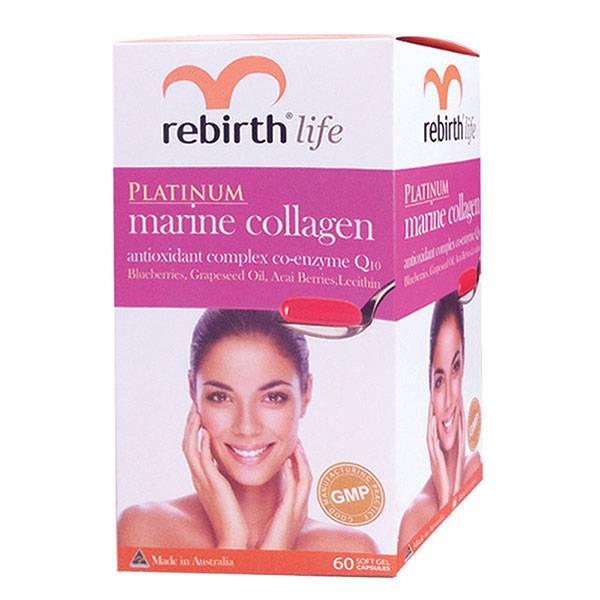 Viên uống chống lão hóa da Collagen Rebirth