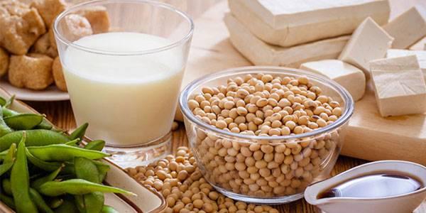 Đậu nành và các chế phẩm từ đậu nành giúp kích thích sản sinh collagen