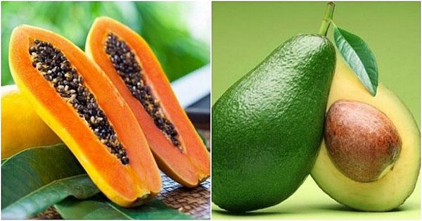 Đu đủ giúp tăng cường dưỡng chất cho da