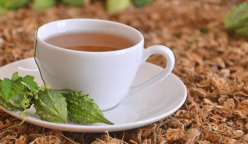 Giảm béo bằng trà khổ qua