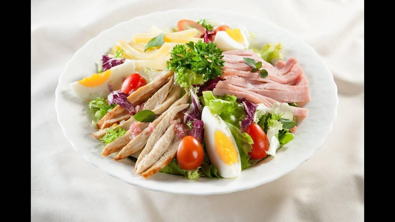 Giảm cân bằng Salad ức gà