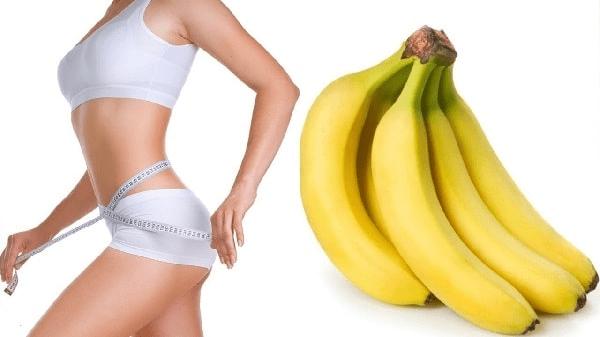 Lượng kali trong trái chuối cũng giúp đốt cháy mỡ thừa để giảm cân hiệu quả