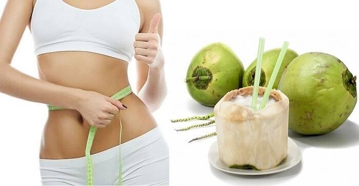 Uống nước dừa có giảm cân không?