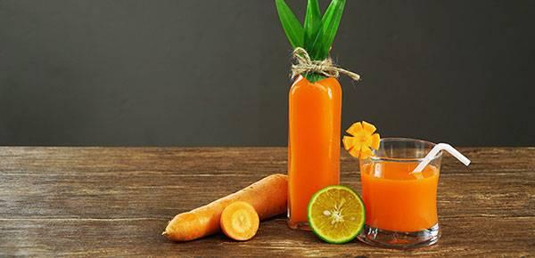 Nước ép cà rốt là một loại thức uống đẹp da giúp chống lão hóa hiệu quả