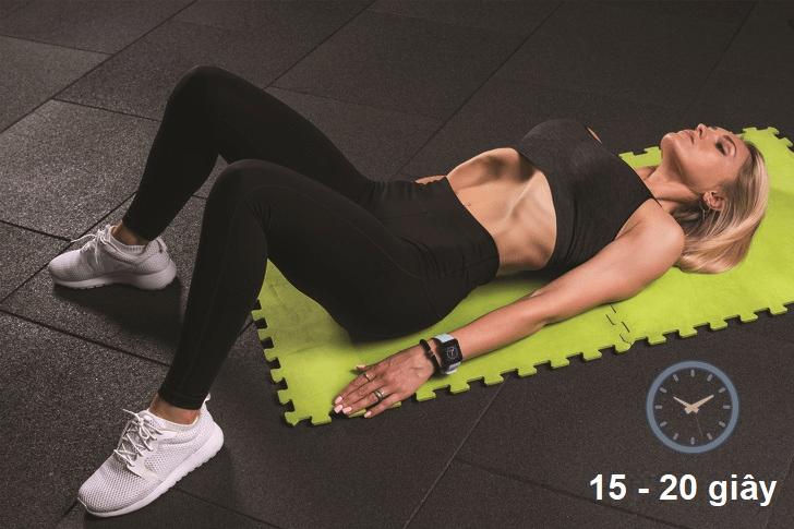 Bài tập giảm eo - thở hóp bụng