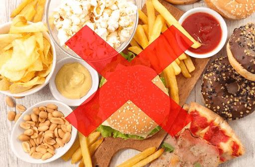 Lưu ý khi ăn kiêng giảm mỡ bụng dưới