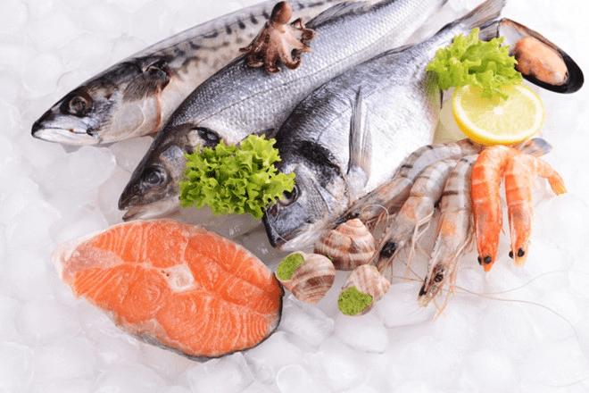 món ăn giảm mỡ bụng dưới từ cá
