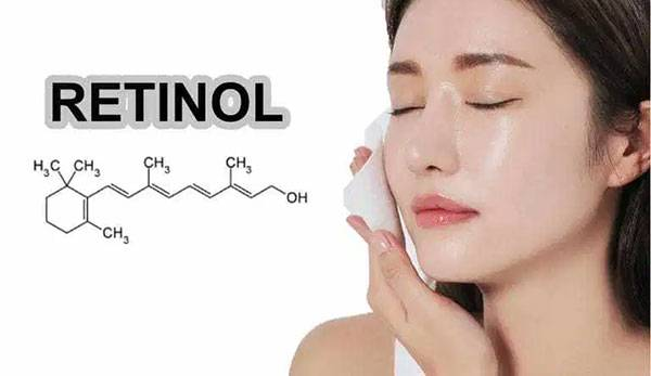 Một ví dụ điển hình của Retinol dưới dạng chất dùng trong mỹ phẩm là retinyl palmitate.