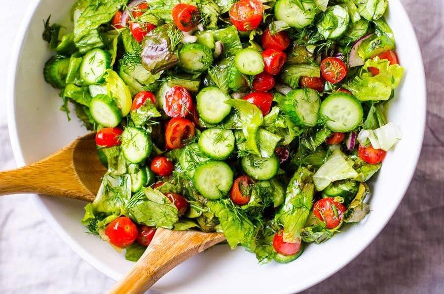 Salad dưa chuột giúp giảm béo nhanh