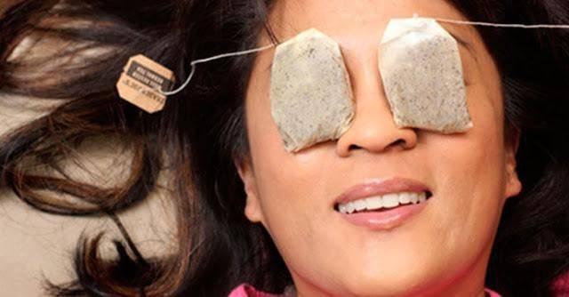 Túi trà lọc giảm thâm quầng mắt cấp tốc