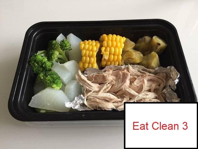 Thực đơn Eat Clean 3