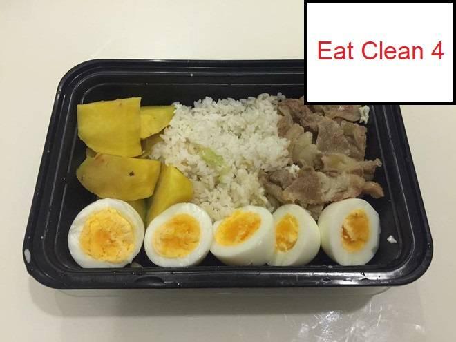 Thực đơn Eat Clean 4