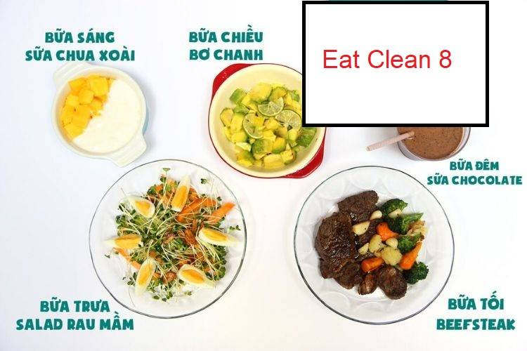 Thực đơn Eat Clean 8