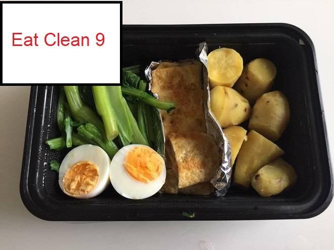 Thực đơn Eat Clean 9