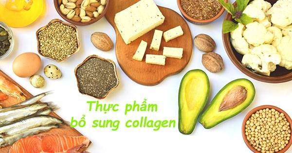 Có rất nhiều thực phẩm giúp bổ sung collagen cho cơ thể